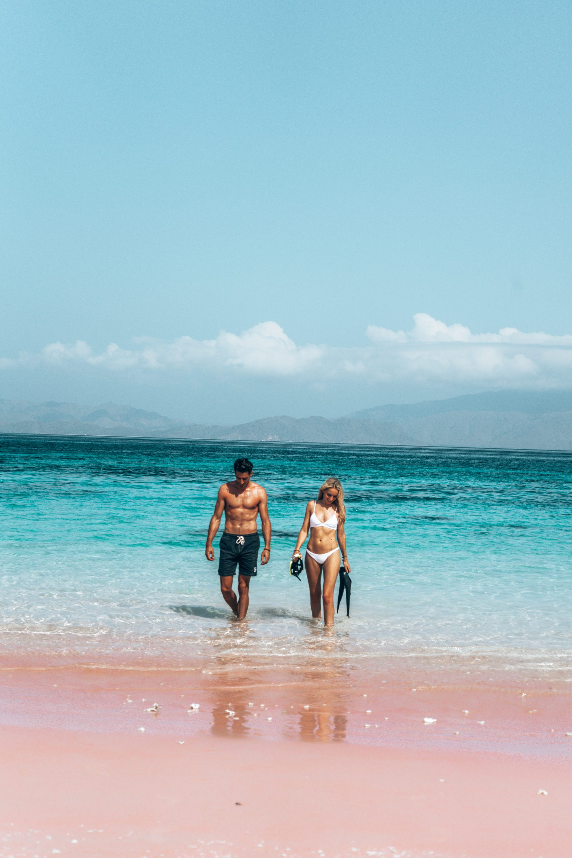 Pink Beach - Komodo Islands