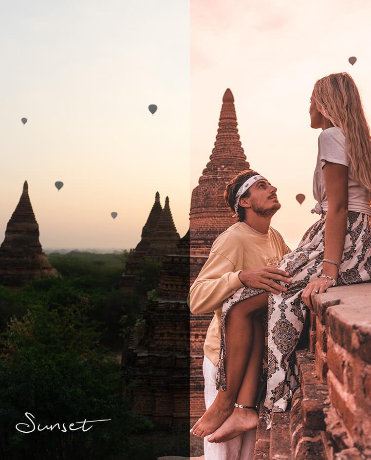 passport in one hand presets myanmar