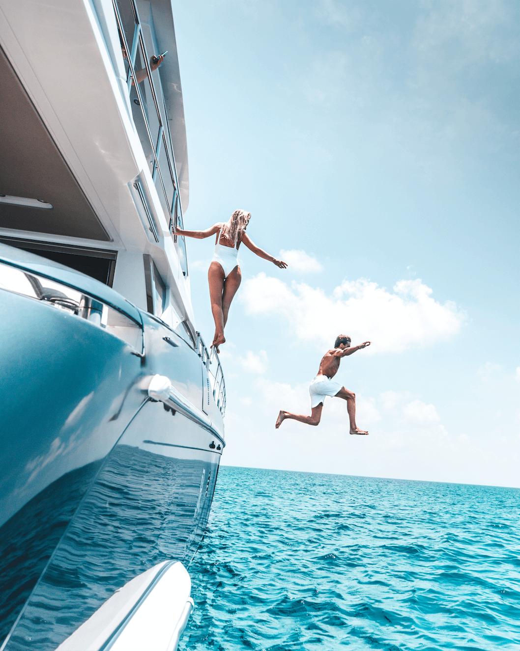 st regis maldives yacht