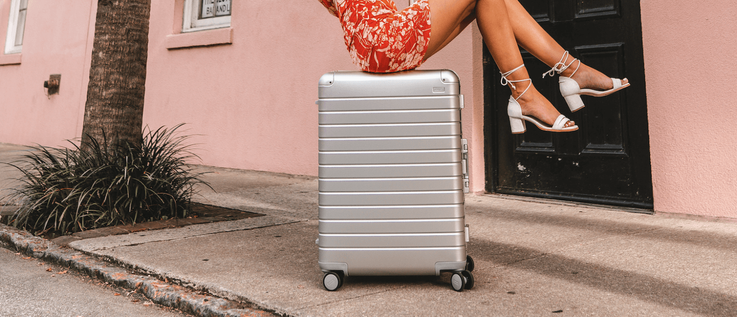 away luggage aluminium - invest in good luggage