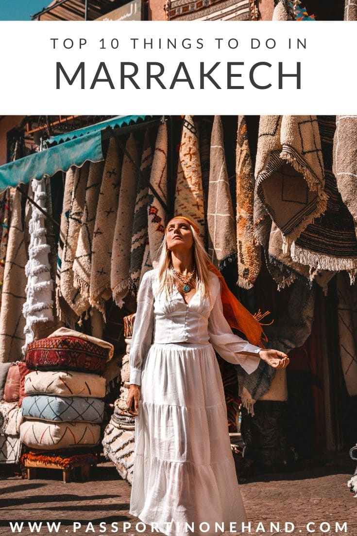 CARPET SHOPPING - TOP 10 THINGS TO DO IN MARRAKECH