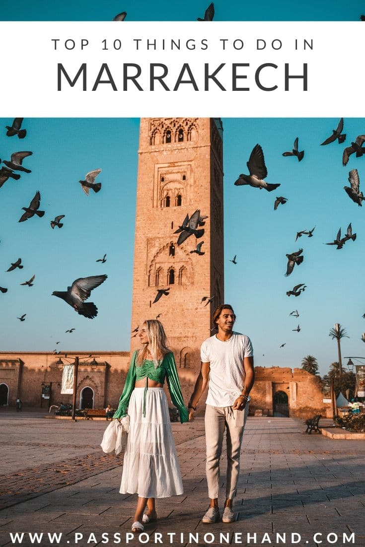 KOUTOUBIA - TOP 10 THINGS TO DO IN MARRAKECH