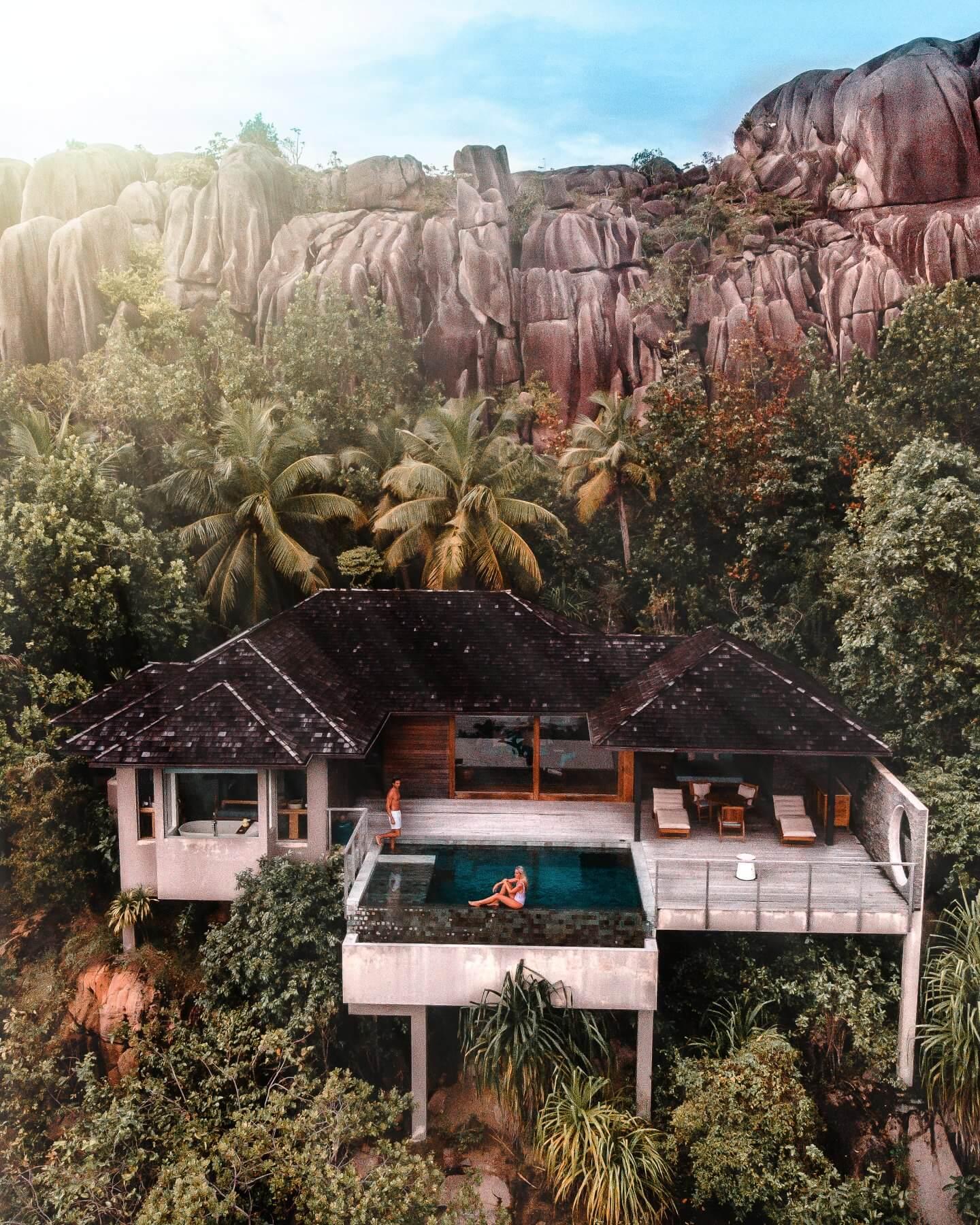 Regular villa at Six Senses Zil Pasyon