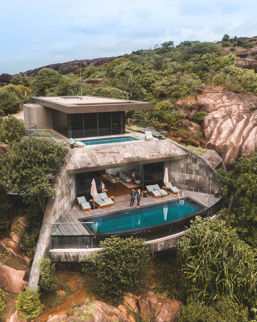 A residence in the Seychelles