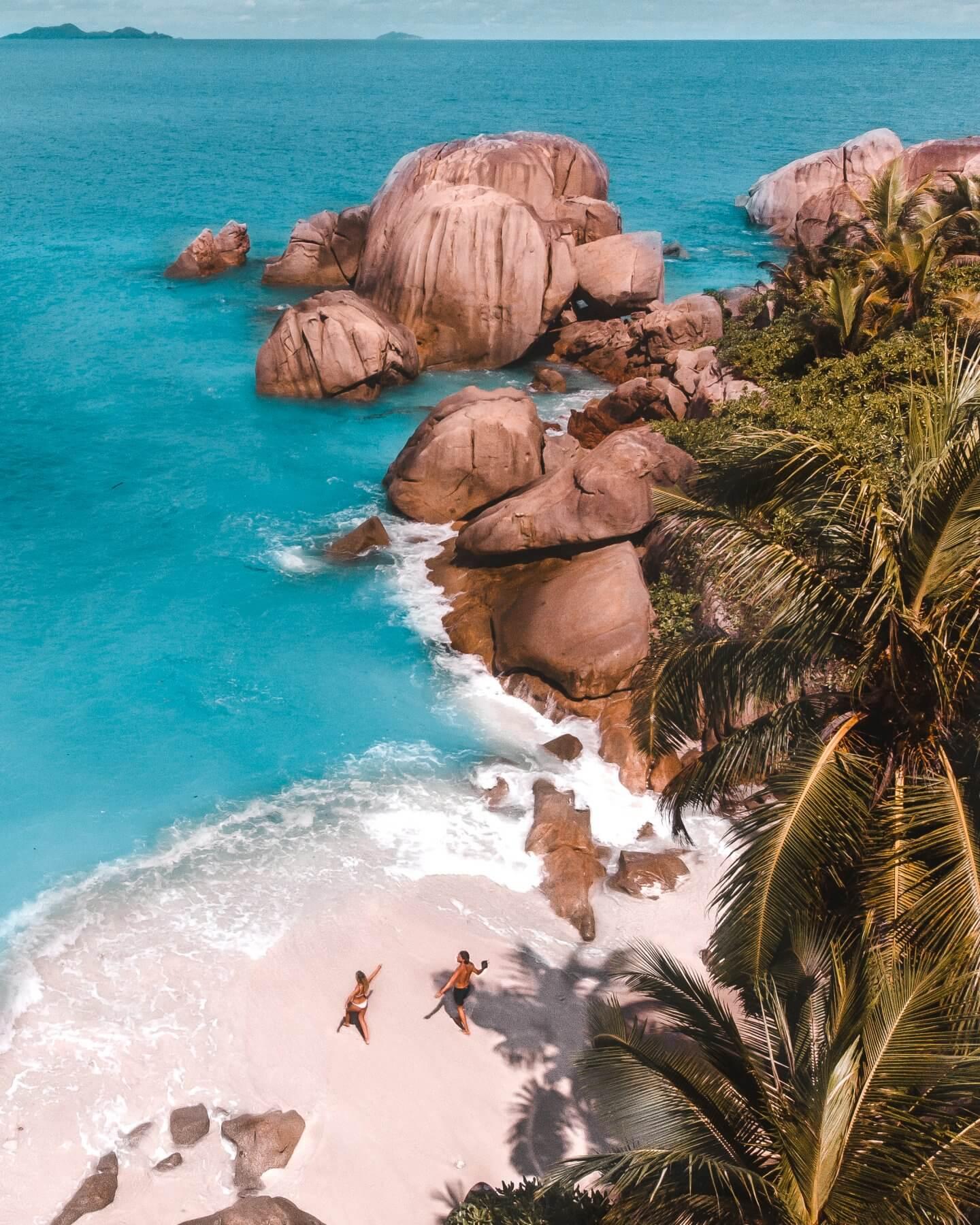Beautiful beach Seychelles