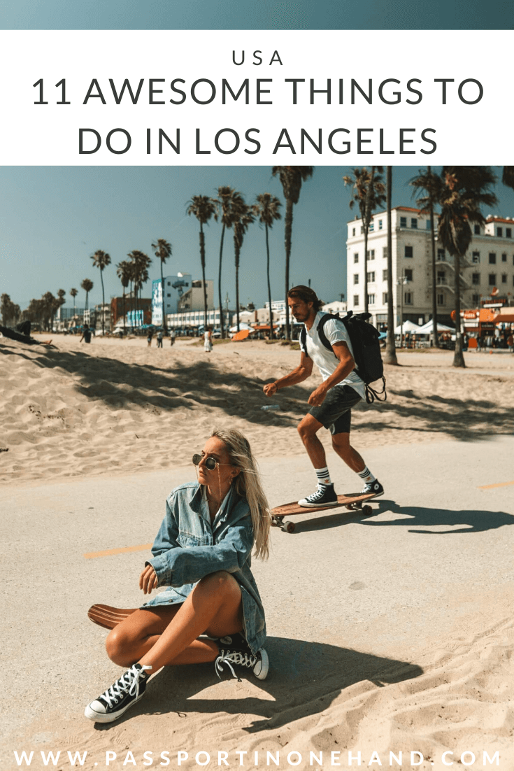 Skateboarding in Venice Beach - The most awesome things to do in Los Angeles