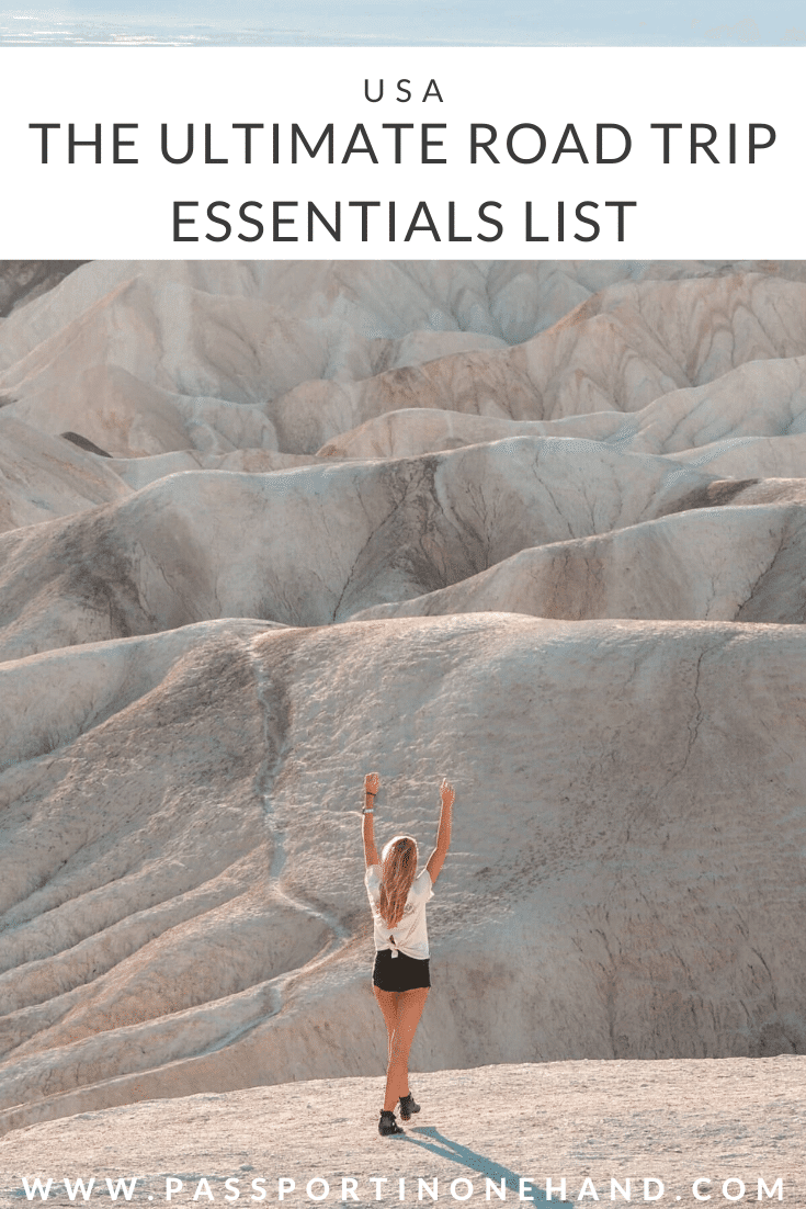 ROAD TRIP ESSENTIALS LIST